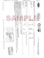 Material Certificate Sample