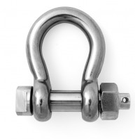 High Tensile Stainless Steel Bow Shackle with E pin